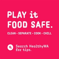 Play it Food Safe logo and slogan