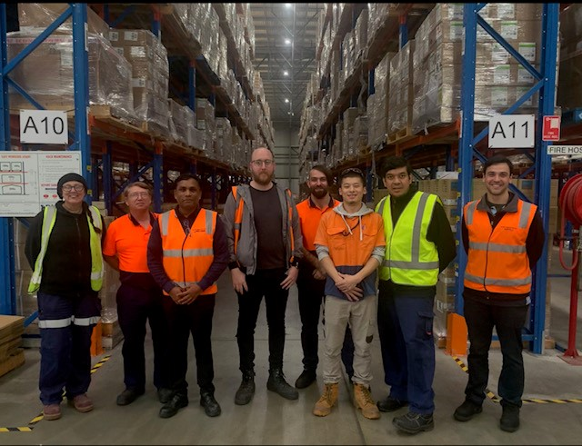 The State Distribution Centre (SDC) Team, who were instrumental in packing and preparing the PPE for airfreight.