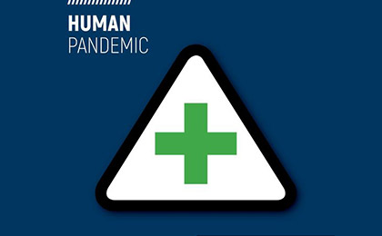 Human pandemic Emergency WA icon