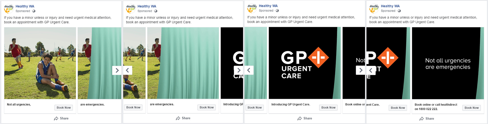 Banner: GP Urgent Care social media slide