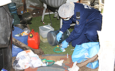 Illicit drug contamination