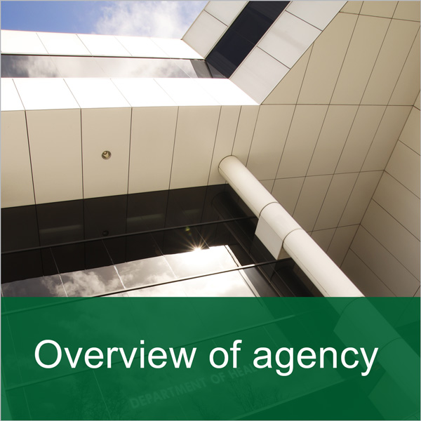 Banner: Overview of agency