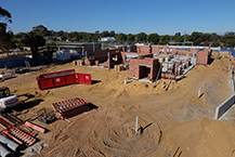 Pingelly Health Centre construction
