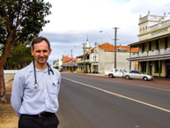 Katanning GP on the main street of his community