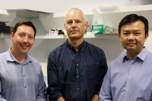 Researchers Chris Yeoman, Jeremy Parry and Kevin Wong