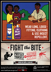 Poster: fight the bite indigenous communities 1