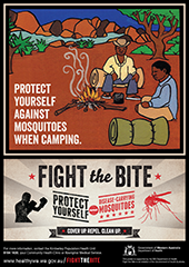 Poster: fight the bite indigenous communities 2