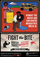 Poster: fight the bite indigenous communities 3