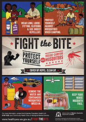 Poster: fight the bite indigenous communities