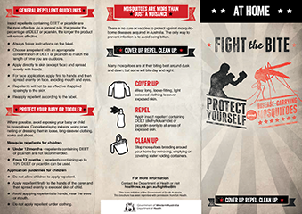 Brochure: fight the bite at home