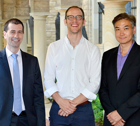 WA Health clinician researchers Dimitar Azmanov, Tobias Strunk and Wai Lim have been awarded fellowships in the fifth round of the Department of Health/Raine Medical Research Foundation Clinician Research Fellowship program.