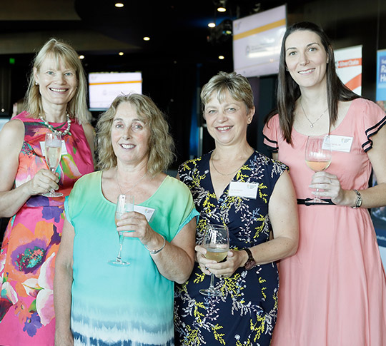 Sponsors and finalists celebrating at the WA Nursing and Midwifery Excellence Awards finalist announcement
