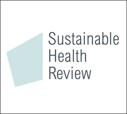 Logo: Sustainable Health Review