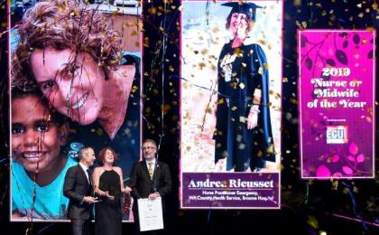 WA 2019 Nurse of the Year Andrea Rieusset