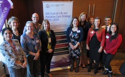 WA Health staff at the launch of the WA End-of-Life and Palliative Care Strategy 2018-2028