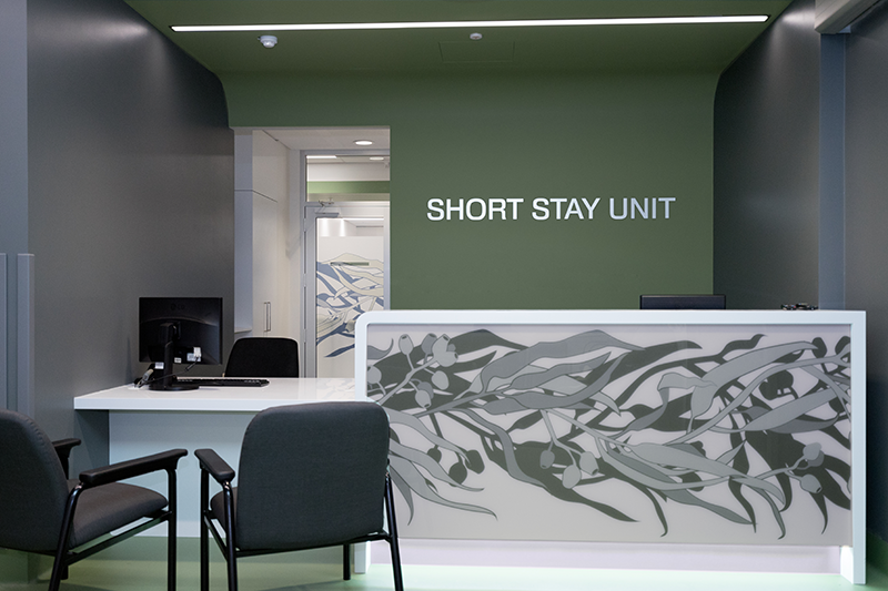 Office for Short stay Unit