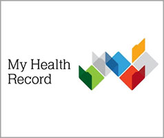 Logo: My Health Record