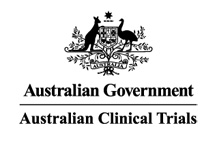 Logo: Click here to visit Australian Government – Australian Clincial Trials