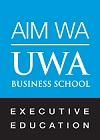 AIM WA+UWA Business School Executive Education logo