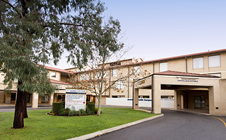 Joondalup Health Campus entrance