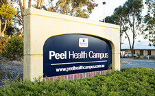 Peel Health Campus sign
