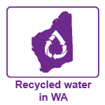 Logo: Recycled water in WA