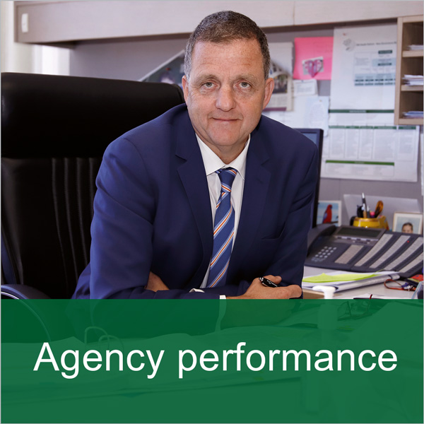 Banner: Agency performance