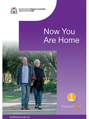 Booklet 3: Patient First – Now You Are Home