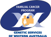 Genetic Services of Western Australia Familial Cancer Program logo